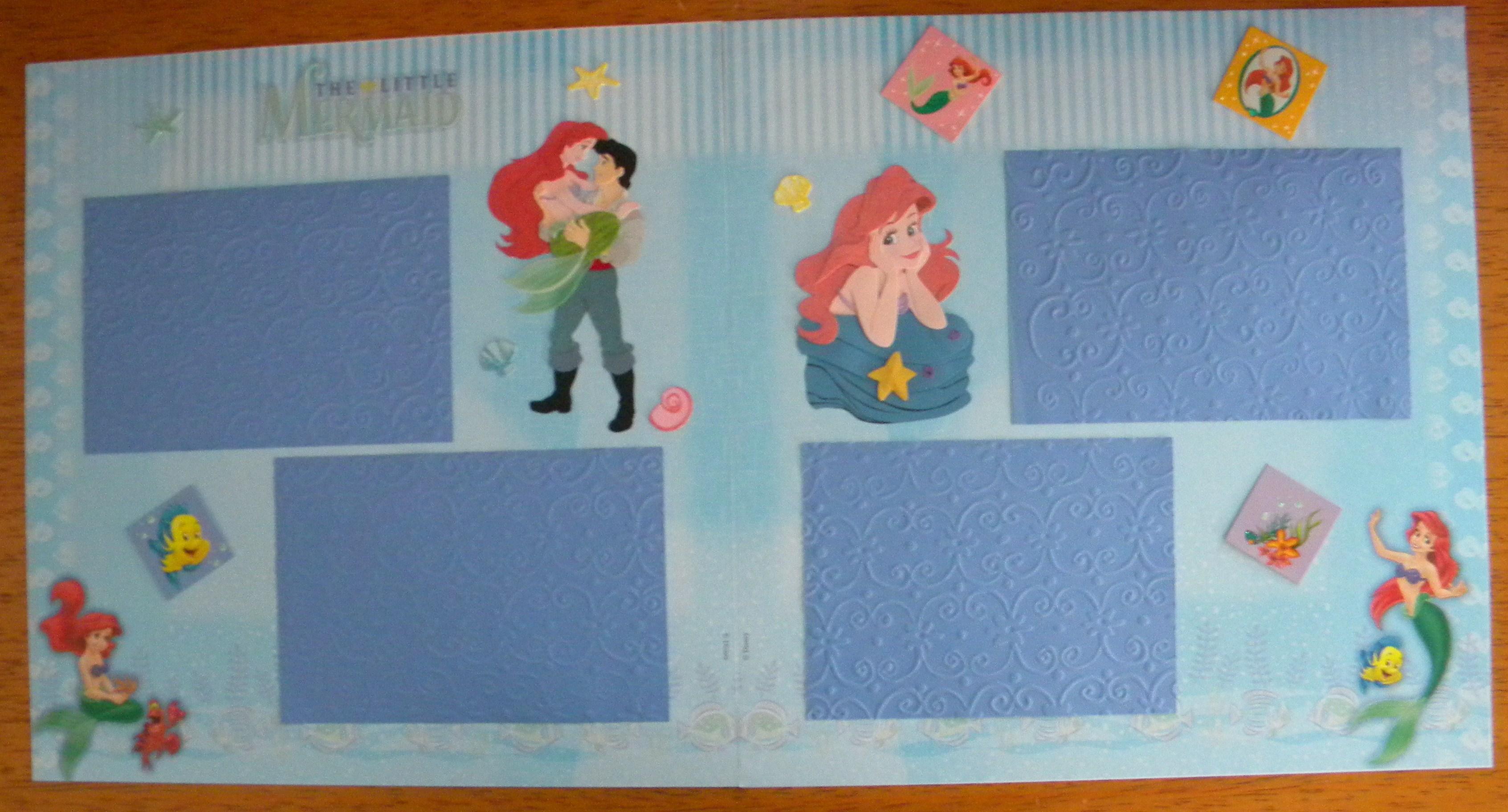 Disney scrapbook ideas - Disney Princess Layouts